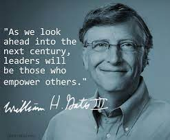 image-Y9vL9VUijl Gates quote on being a great manager is empowering others | Servant  leadership quotes, Leadership quotes work, Servant leader